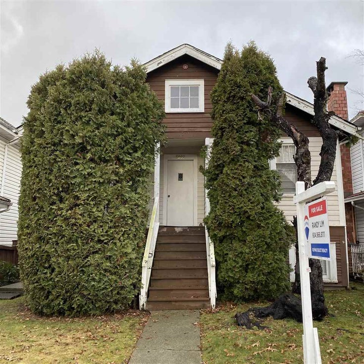 5883 SOPHIA STREET - South Vancouver House/Single Family for sale, 3 Bedrooms (R2532022)