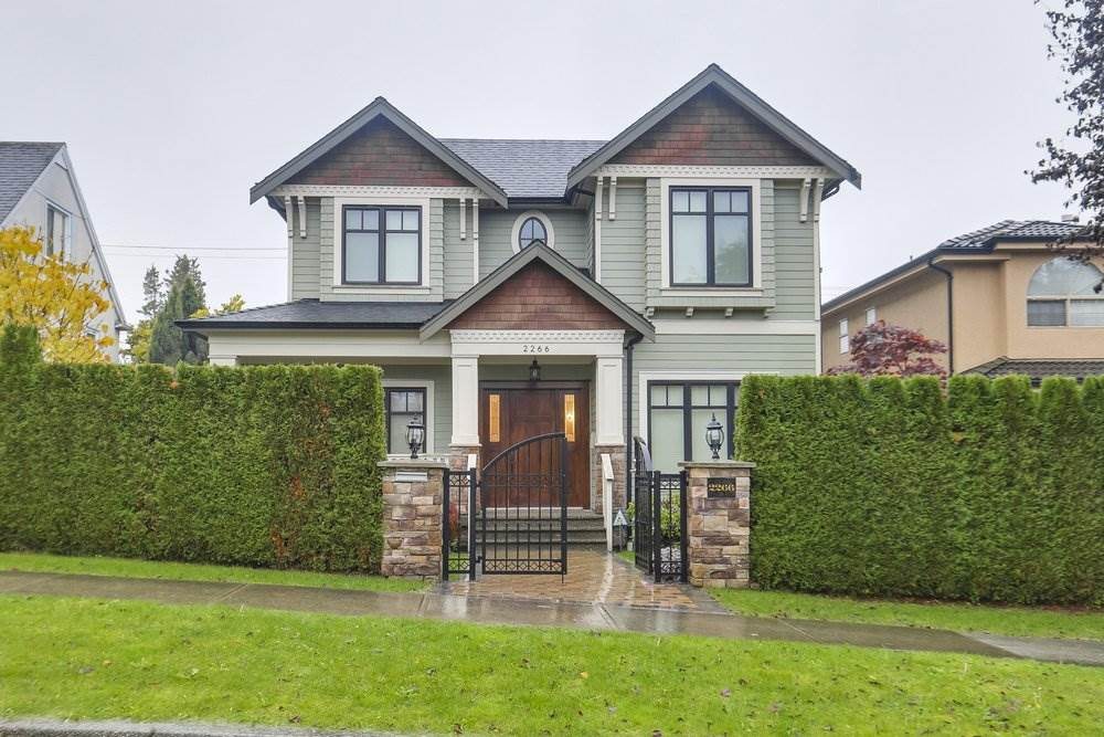 2266 W 21ST AVENUE - Arbutus House/Single Family for sale, 5 Bedrooms (R2532049)