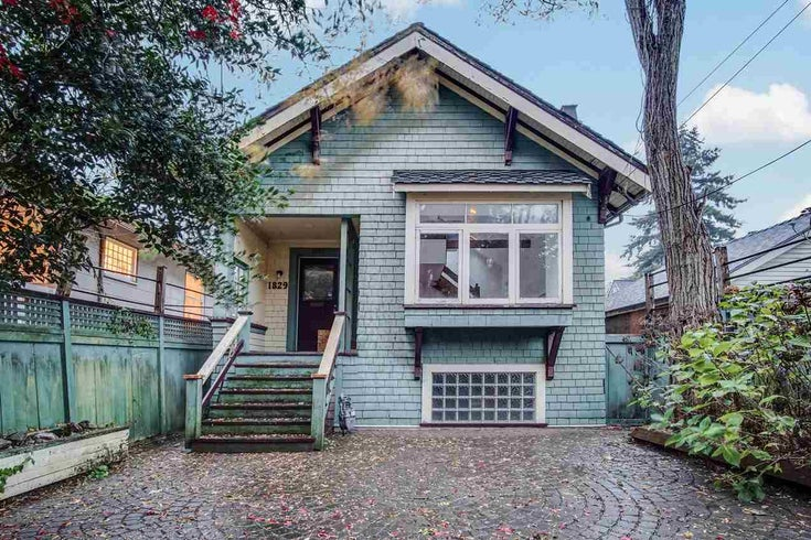 1829 STEPHENS STREET - Kitsilano House/Single Family for sale, 2 Bedrooms (R2532055)
