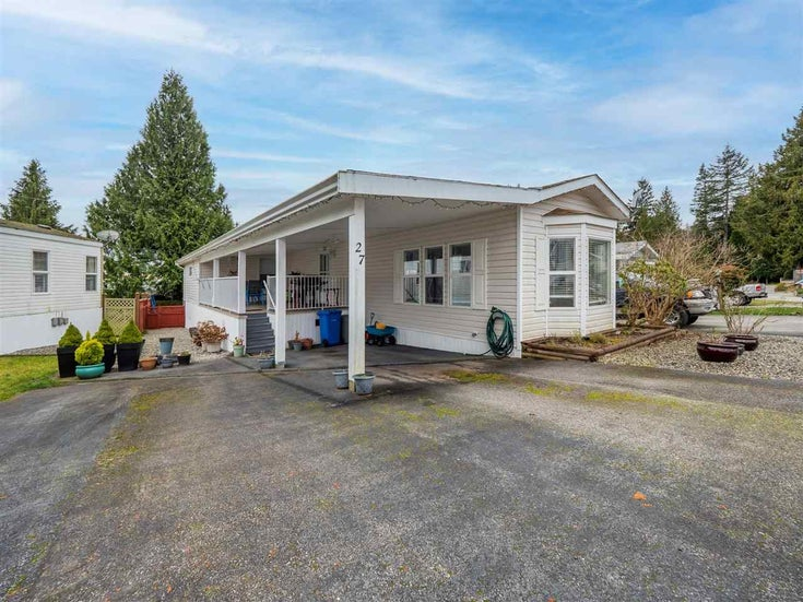 27 5575 MASON ROAD - Sechelt District Manufactured for sale, 2 Bedrooms (R2532153)