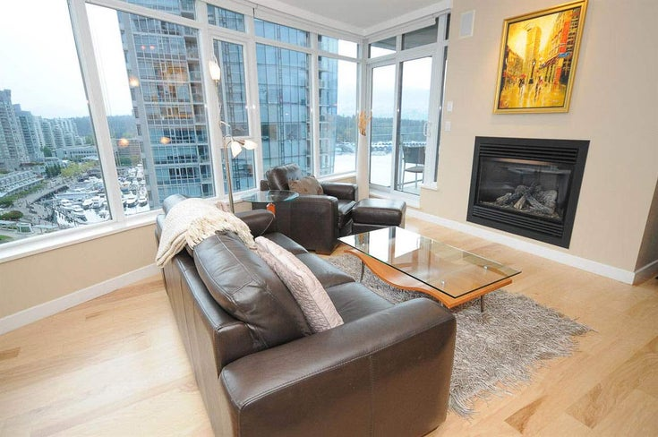 1604 1233 W CORDOVA STREET - Coal Harbour Apartment/Condo for sale, 2 Bedrooms (R2532177)