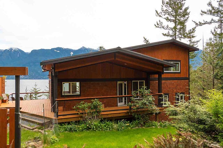 1518 MOUNT ARTABAN ROAD - Gambier Island House with Acreage for sale, 3 Bedrooms (R2532192)