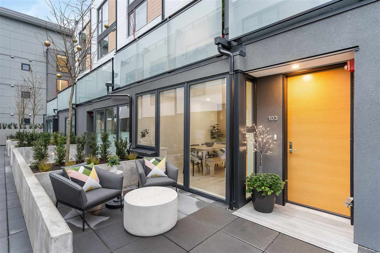 103 649 E 3RD STREET - Lower Lonsdale Townhouse for sale, 2 Bedrooms (R2532222) - #1