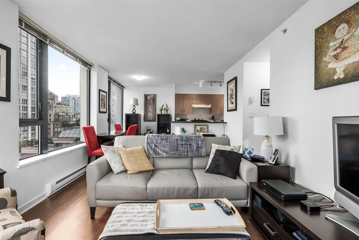 901 1295 RICHARDS STREET - Downtown VW Apartment/Condo for sale, 1 Bedroom (R2532294)