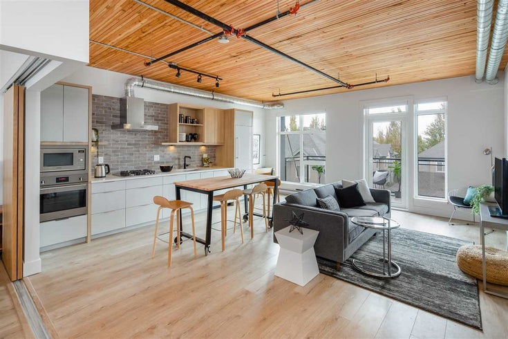 308 4223 HASTINGS STREET - Vancouver Heights Apartment/Condo for sale, 1 Bedroom (R2532302)