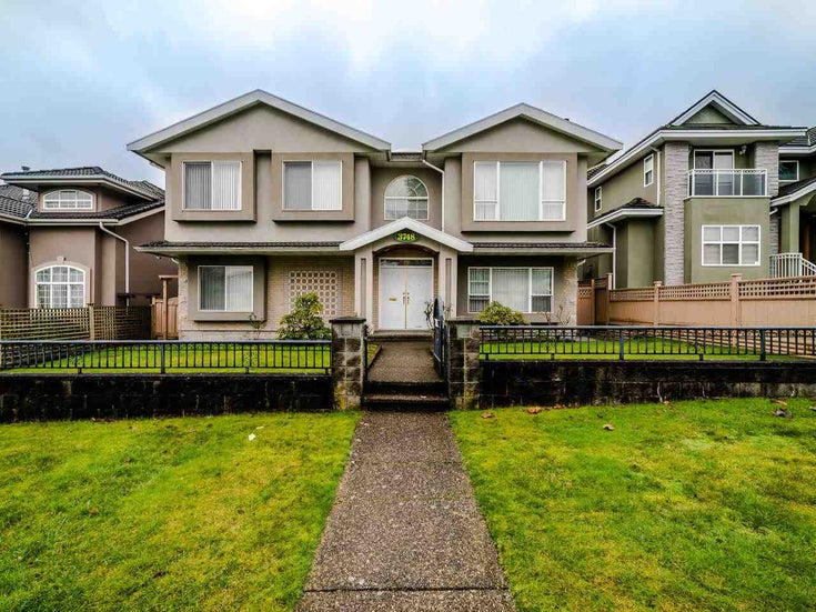 3748 AVONDALE STREET - Burnaby Hospital House/Single Family for sale, 7 Bedrooms (R2532501)