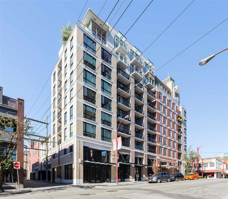 301 189 KEEFER STREET - Downtown VE Apartment/Condo for sale, 1 Bedroom (R2532616)