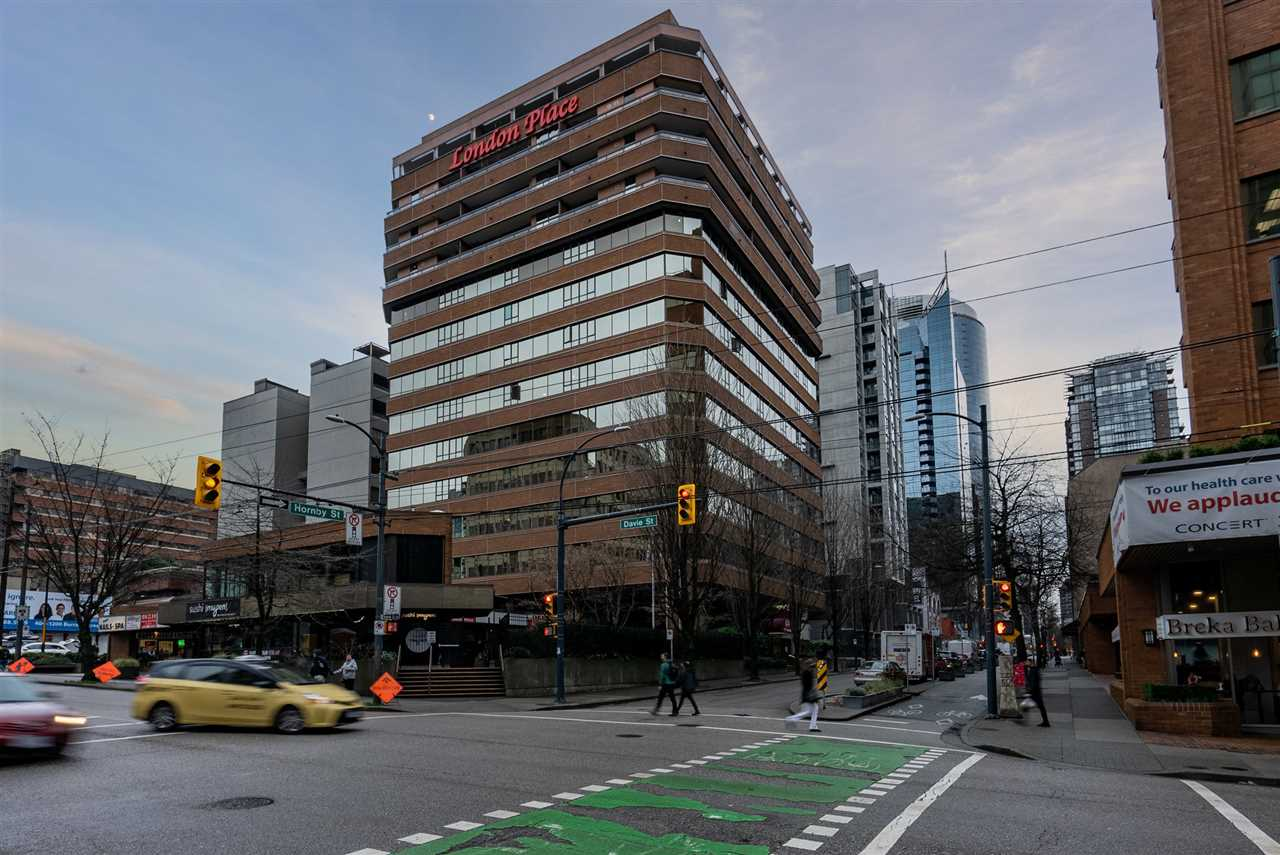 907 1177 HORNBY STREET - Downtown VW Apartment/Condo for sale, 1 Bedroom (R2532676) - #1