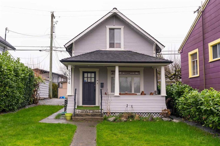 5304 FRASER STREET - Fraser VE House/Single Family for sale, 2 Bedrooms (R2532729)