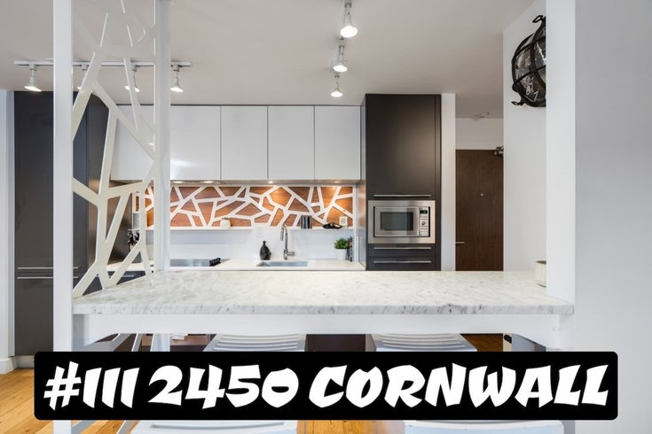 111 2450 CORNWALL AVENUE - Kitsilano Apartment/Condo for sale, 1 Bedroom (R2532832)