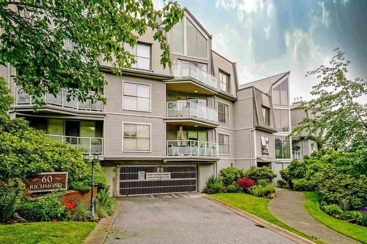 105 60 RICHMOND STREET - Fraserview NW Apartment/Condo for sale, 1 Bedroom (R2532845)