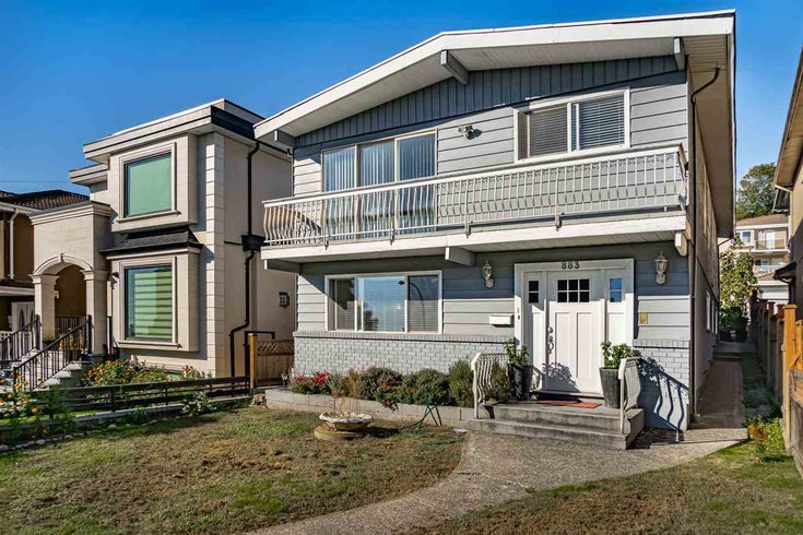 883 E 63RD AVENUE - South Vancouver House/Single Family for sale, 5 Bedrooms (R2533112)