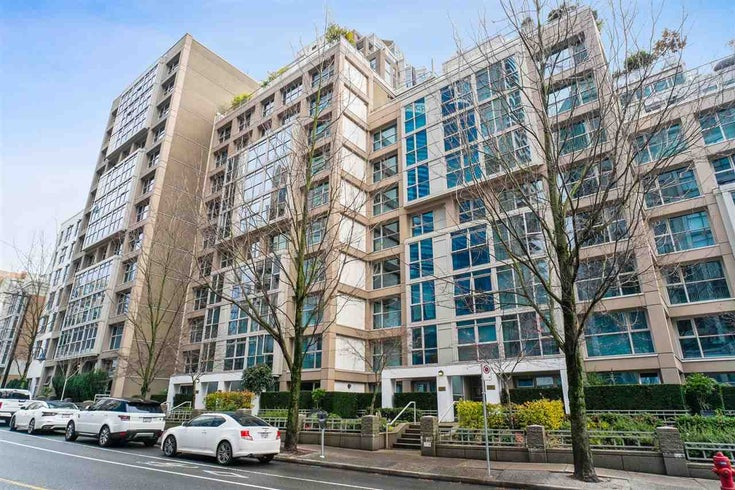 607 1328 HOMER STREET - Yaletown Apartment/Condo for sale, 2 Bedrooms (R2533840)