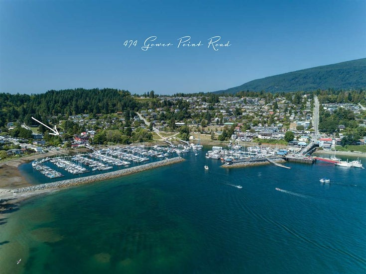 474 GOWER POINT ROAD - Gibsons & Area House/Single Family for sale, 2 Bedrooms (R2534235)