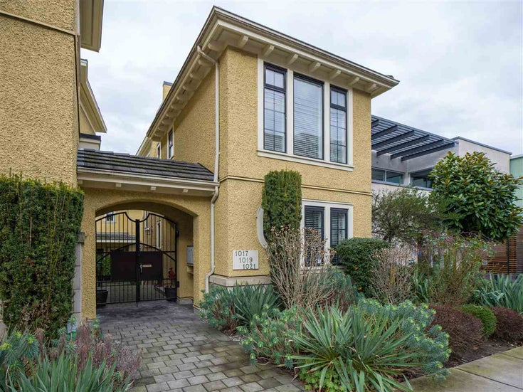 1017 W 8TH AVENUE - Fairview VW Townhouse for sale, 3 Bedrooms (R2534454)