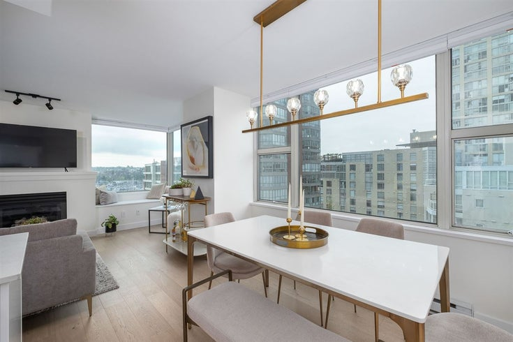 1010 1500 HORNBY STREET - Yaletown Apartment/Condo for sale, 2 Bedrooms (R2534571)