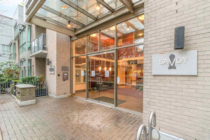 801 928 RICHARDS STREET - Yaletown Apartment/Condo for sale, 1 Bedroom (R2536402)