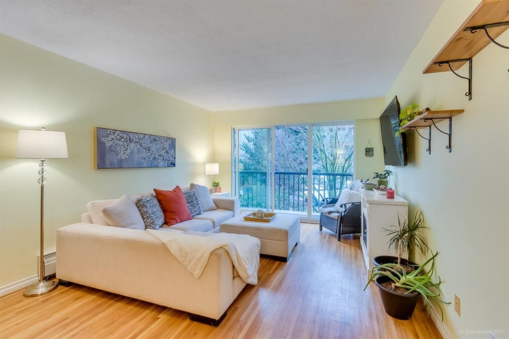 307 2125 W 2ND AVENUE - Kitsilano Apartment/Condo for sale, 1 Bedroom (R2536452)