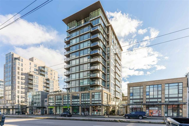 702 1068 W BROADWAY - Fairview VW Apartment/Condo for sale, 1 Bedroom (R2536484)