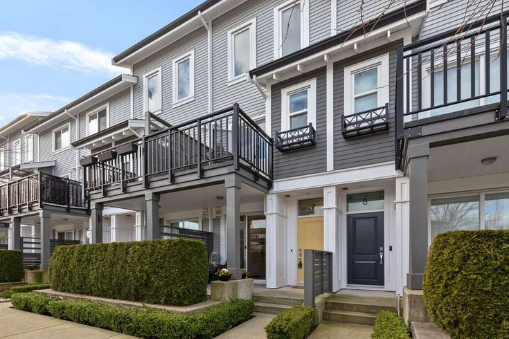 7 10974 BARNSTON VIEW ROAD - South Meadows Townhouse for sale, 2 Bedrooms (R2536869)