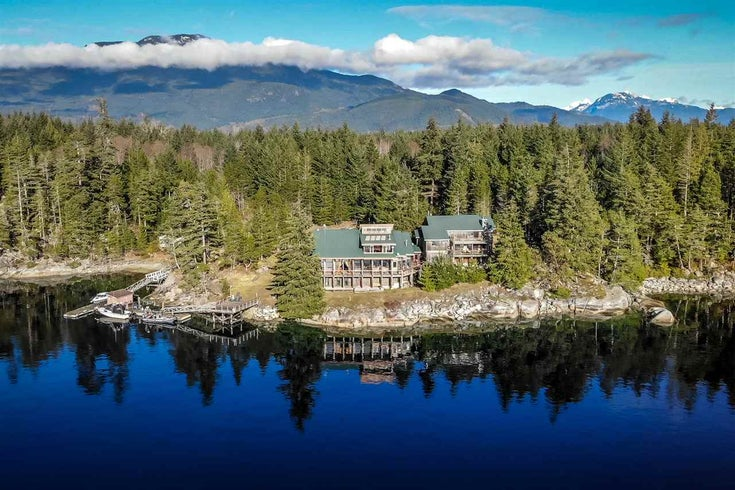 Lot 12 HARDY ISLAND - Pender Harbour Egmont House with Acreage for sale, 7 Bedrooms (R2537640)
