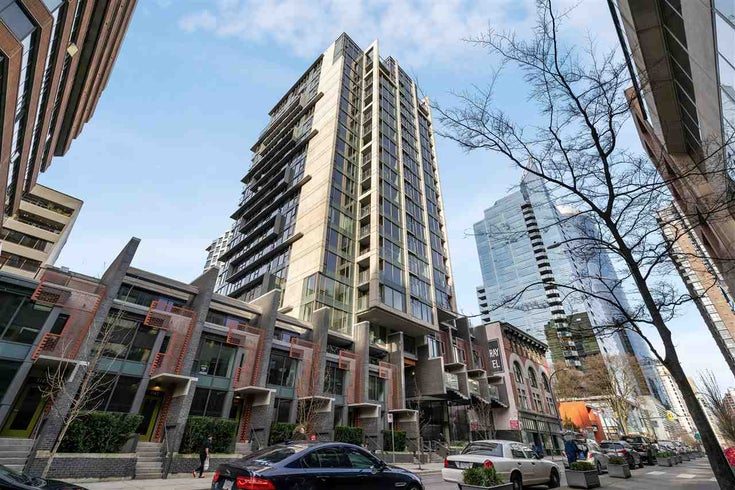 303 1133 HORNBY STREET - Downtown VW Apartment/Condo for sale, 1 Bedroom (R2537987)