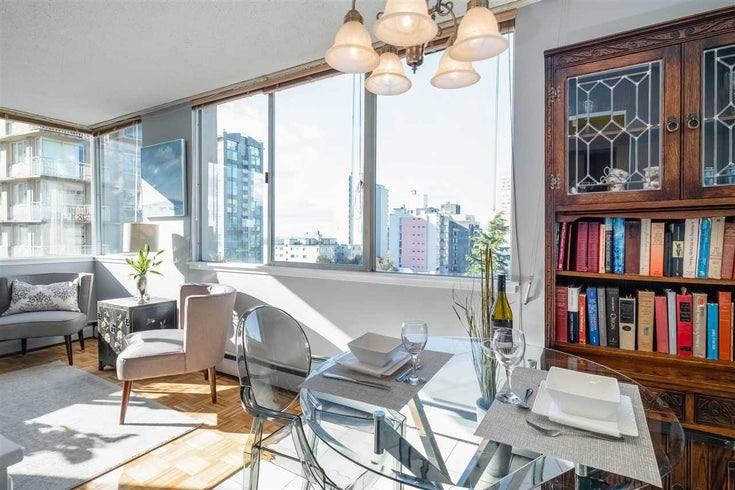 803 1850 COMOX STREET - West End VW Apartment/Condo for sale, 1 Bedroom (R2538198)