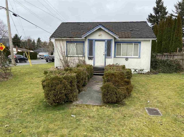 45637 PRINCESS AVENUE - Chilliwack W Young-Well House/Single Family for sale, 2 Bedrooms (R2538232)