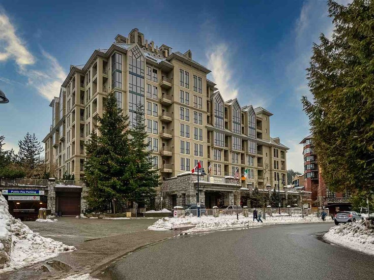 301 4320 SUNDIAL CRESCENT - Whistler Village Apartment/Condo for sale(R2538641)