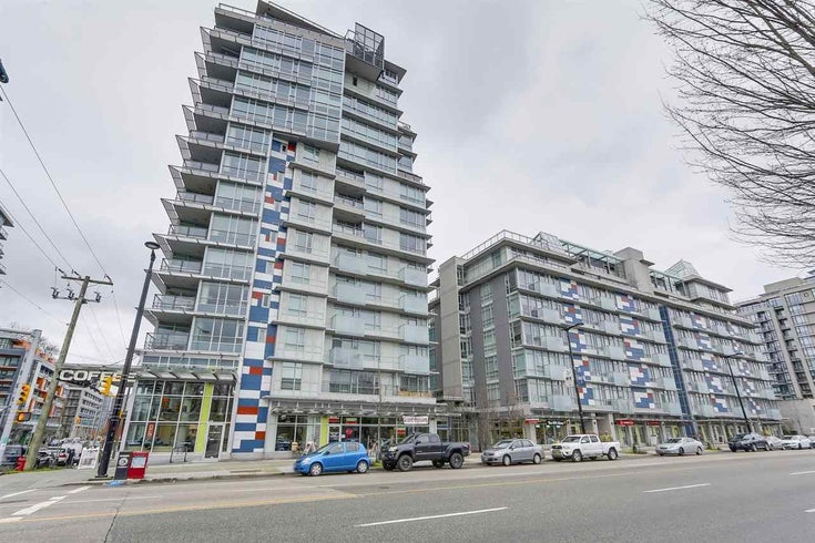 608 63 W 2ND AVENUE - False Creek Apartment/Condo for sale, 1 Bedroom (R2538695)