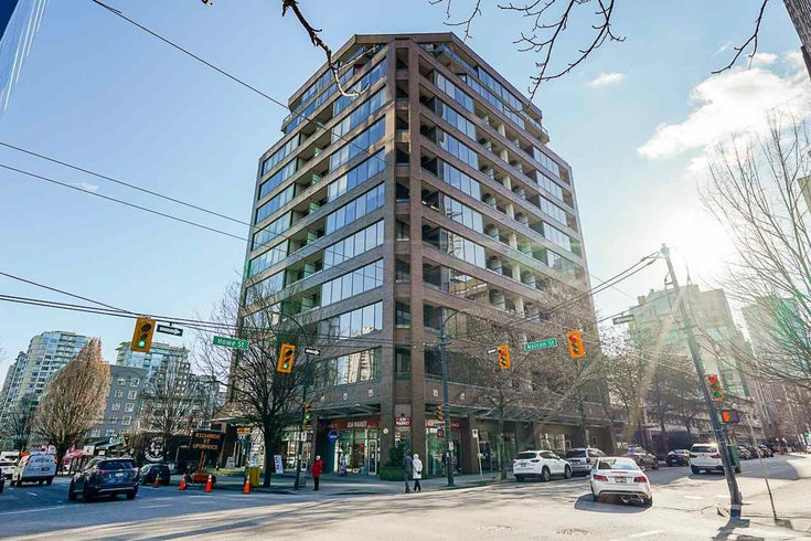 401 1010 HOWE STREET - Downtown VW Apartment/Condo for sale, 1 Bedroom (R2538739)