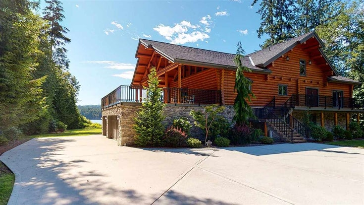6201 SECHELT INLET ROAD - Sechelt District House with Acreage for sale, 6 Bedrooms (R2538881)