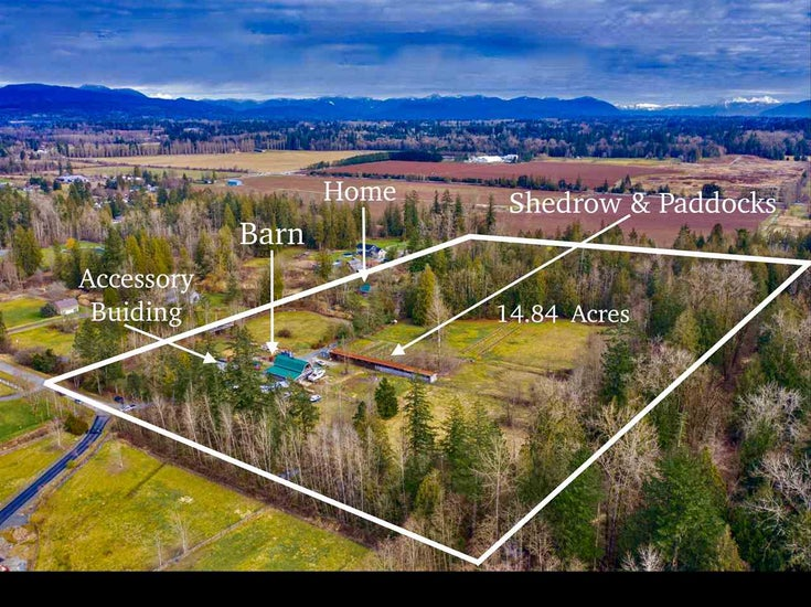 6080 228 STREET - Salmon River House with Acreage for sale, 2 Bedrooms (R2539026)