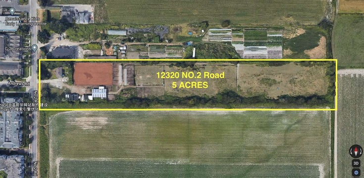 12320 NO. 2 ROAD - Gilmore House with Acreage for sale, 3 Bedrooms (R2539157)