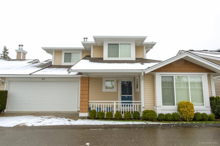 67 6885 184 STREET - Cloverdale BC Townhouse for sale, 3 Bedrooms (R2539320)
