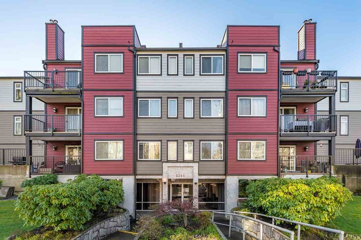 207 2344 ATKINS AVENUE - Central Pt Coquitlam Apartment/Condo for sale, 1 Bedroom (R2539653)