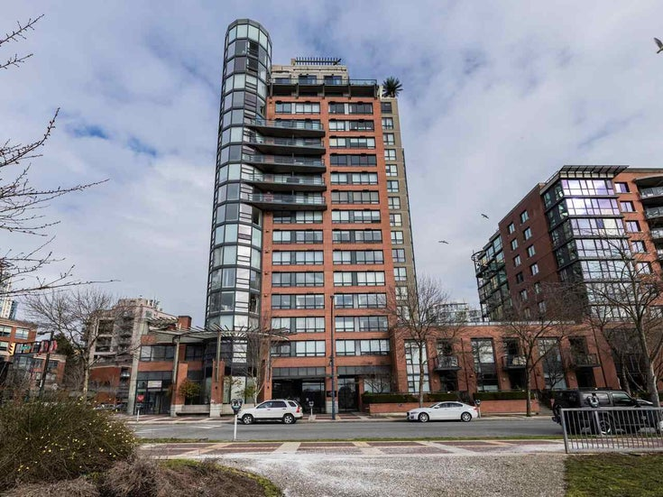 10C 199 DRAKE STREET - Yaletown Apartment/Condo for sale, 2 Bedrooms (R2539673)