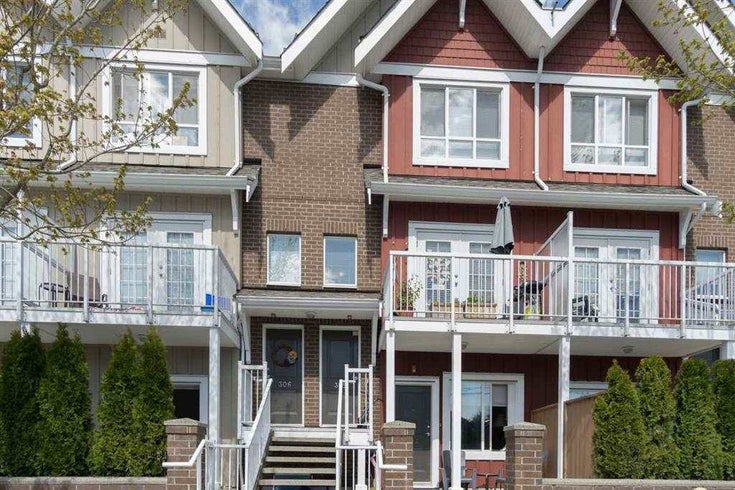 305 1661 FRASER AVENUE - Glenwood PQ Townhouse for sale, 2 Bedrooms (R2539697)