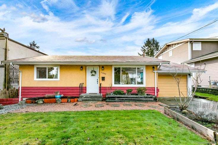 15982 BUENA VISTA AVENUE - White Rock House/Single Family for sale, 2 Bedrooms (R2539773)