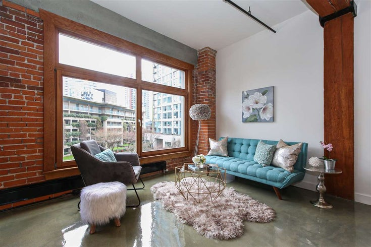 506 518 BEATTY STREET - Downtown VW Apartment/Condo for sale, 1 Bedroom (R2540044)