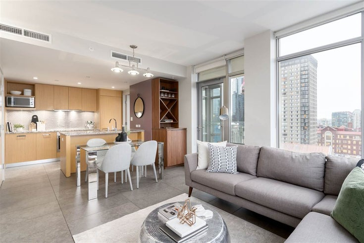1405 1028 BARCLAY STREET - West End VW Apartment/Condo for sale, 1 Bedroom (R2540174)