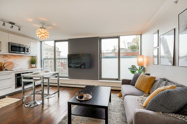 607 66 W CORDOVA STREET - Downtown VW Apartment/Condo for sale, 1 Bedroom (R2540436)
