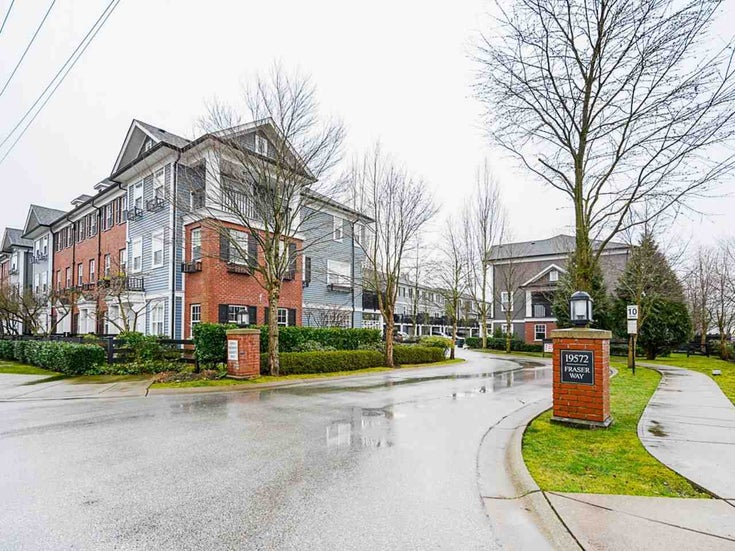 30 19572 FRASER WAY - South Meadows Townhouse for sale, 2 Bedrooms (R2540843)