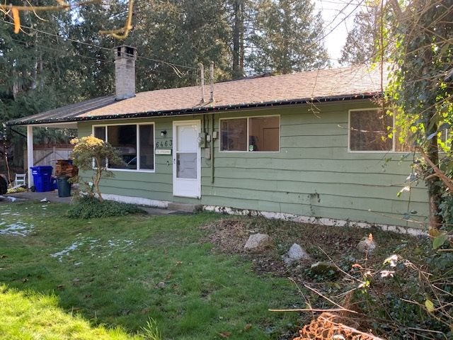 6463 NORWEST BAY ROAD - Sechelt District House/Single Family for sale, 3 Bedrooms (R2540952)