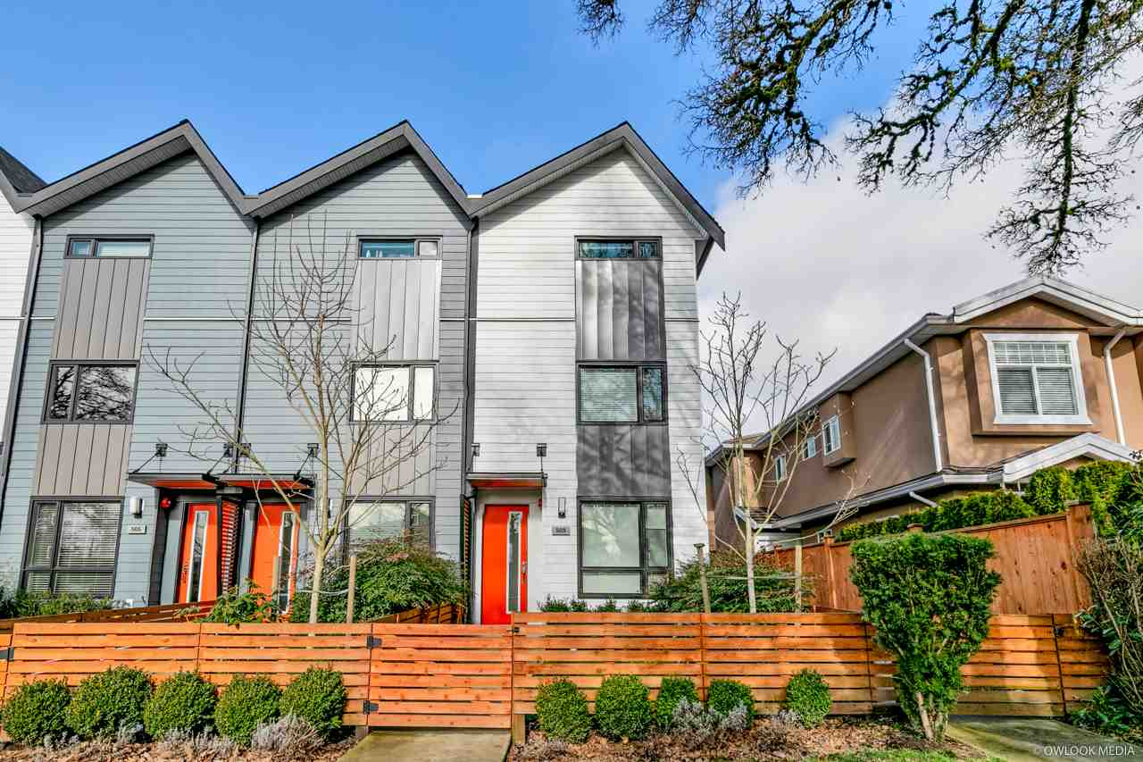 509 E 44TH AVENUE - Fraser VE Townhouse for sale, 3 Bedrooms (R2540969) - #1