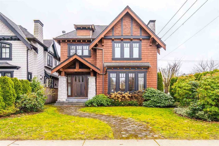 4398 W 8TH AVENUE - Point Grey House/Single Family for sale, 4 Bedrooms (R2541035)