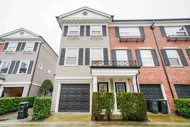 52 11067 BARNSTON VIEW ROAD - South Meadows Townhouse for sale, 3 Bedrooms (R2541291)