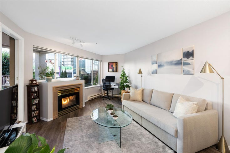 109 1208 BIDWELL STREET - West End VW Apartment/Condo for sale, 1 Bedroom (R2541358)