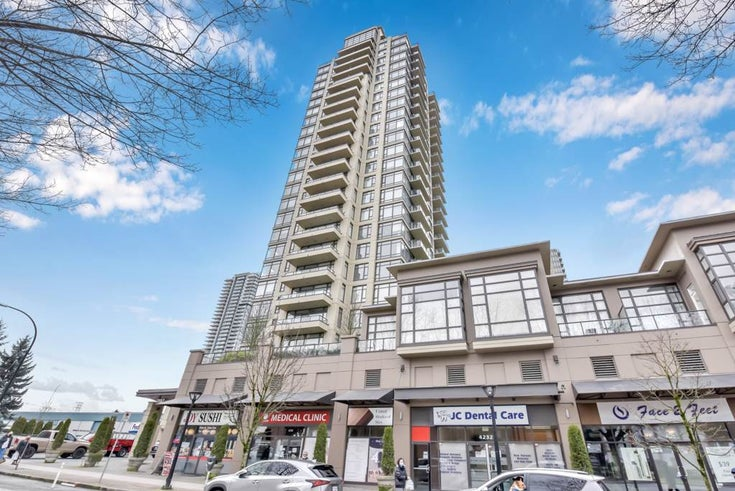 1403 4250 DAWSON STREET - Brentwood Park Apartment/Condo for sale, 2 Bedrooms (R2541397)