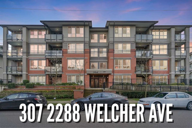 307 2288 WELCHER AVENUE - Central Pt Coquitlam Apartment/Condo for sale, 1 Bedroom (R2541436)